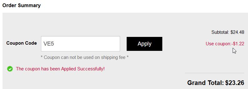 FairySeason discounted total
